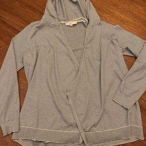 Loft Hooded Cardigan Size Large